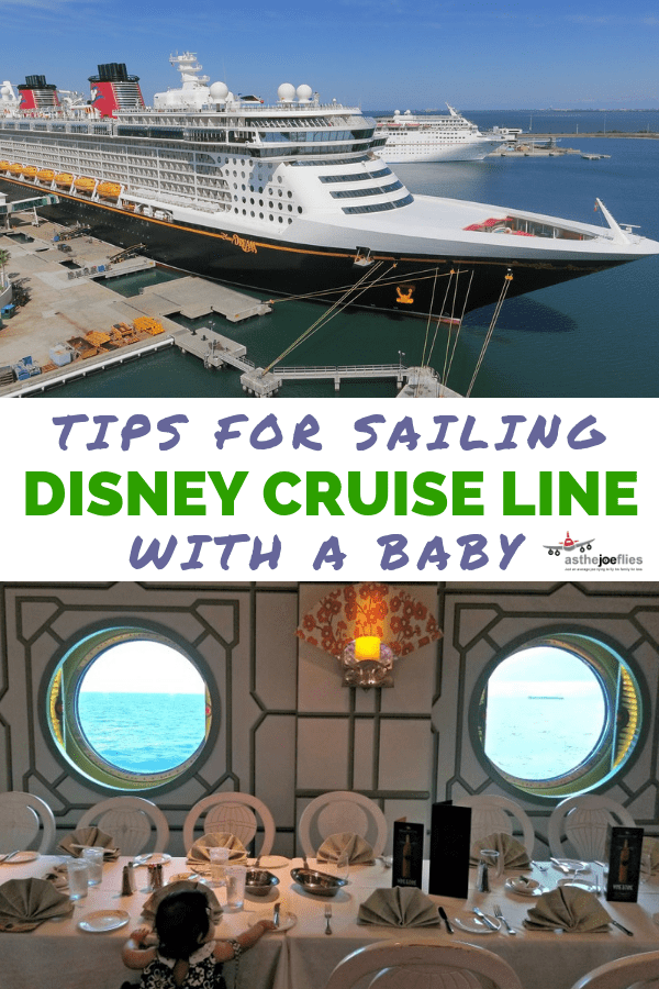 Thinking of sailing Disney Cruise Line with a baby? Tips and tricks you need to know to make your Disney cruise experience with your family smooth and fun! #Disney #DisneyCruise #FamilyTravel #DisneySMMC #Cruise