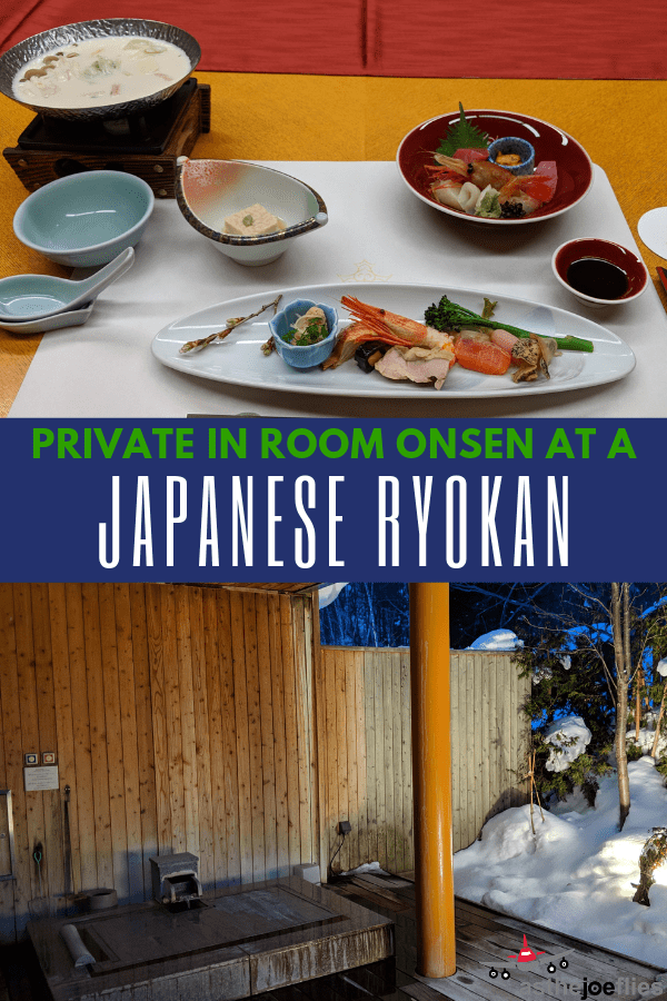 Looking for a Japanese ryokan with a private onsen? One of the best options for private onsen at a Japan hotel