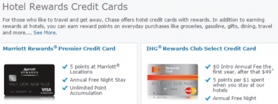 Pure Speculation: Chase Is ReEvaluating All Hotel Credit Cards