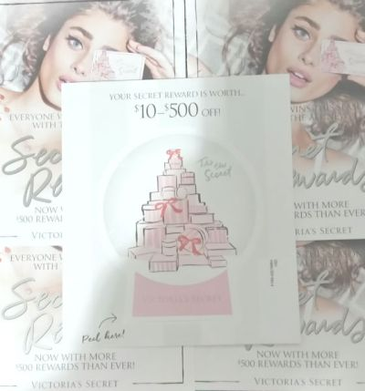 Victorias Secret Reward Card- The Gift That Keeps on Giving!