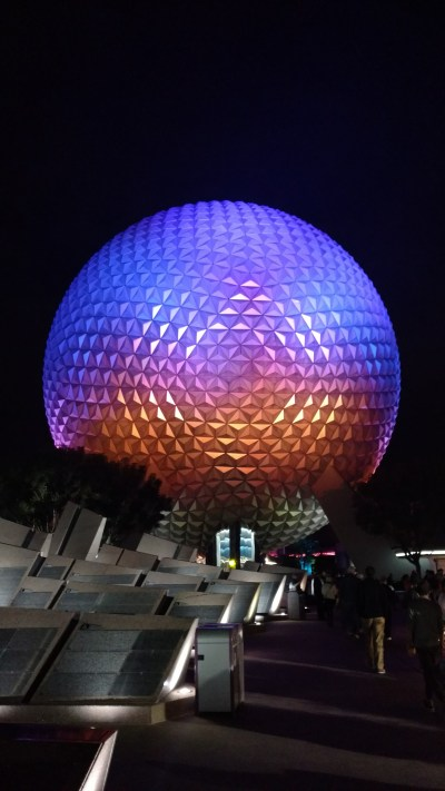 Daring to Disney: Touring Epcot attractions with a toddler