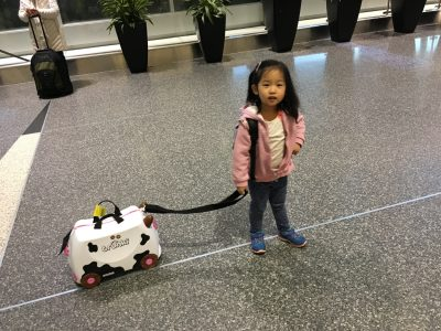 Preparing to travel alone with a preschooler