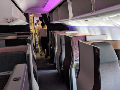Qatar Airways QSuite flying not just to LHR, CDG, and JFK!