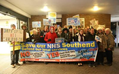 REPORT ON STP PUBLIC CONSULTATION – 8th Feb, Southend.