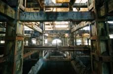 A usina de carvão abandonada, França.