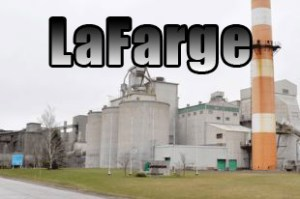 LaFarge Cement plant in Brookfield, Nova Scotia