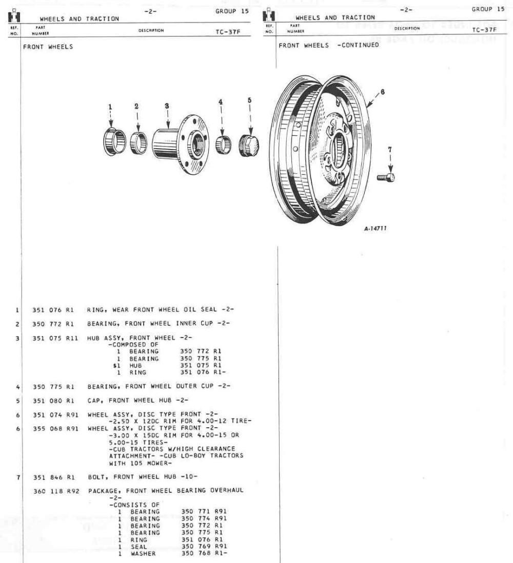 medium resolution of farmall m wheel bearing diagram wiring diagram experts farmall m wheel bearing diagram