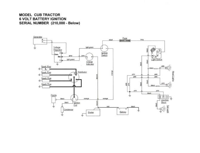 1954 farmall 6 volt positive ground wiring diagram  1968