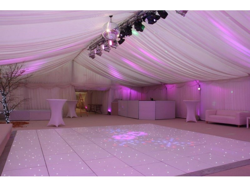 wedding chair cover hire bedford sun lounge a white led starlit dance floor in bedfordshire save the date to
