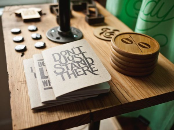 Encouraging book on a counter-top, Photo by Jeff Sheldon on Unsplash