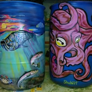 Artisan Rain Barrel Collection