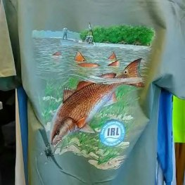 Mark Susinno Red Fish T-Shirt
