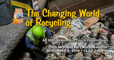 November 6 Brown Bag Lunch: The Changing World of Recycling