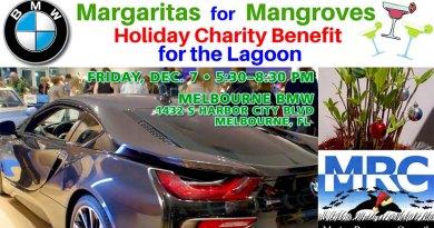 3rd Annual BMW Margaritas for Mangroves Dec. 7