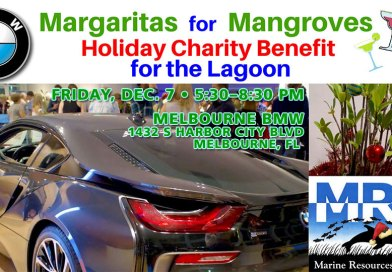 BMW Margaritas for Mangroves Holiday Fundraiser Dec. 7