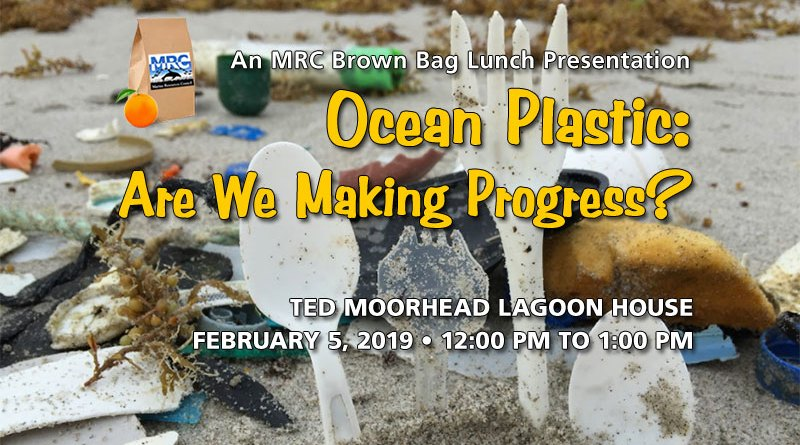 Feb. 5 Brown Bag Lunch: Ocean Plastic