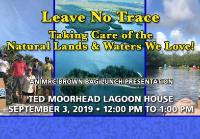 Sept. 3 Brown Bag Lunch: Leave No Trace