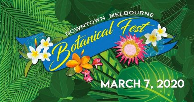 Rain Barrel Workshop at Downtown Melbourne's Botanical Fest