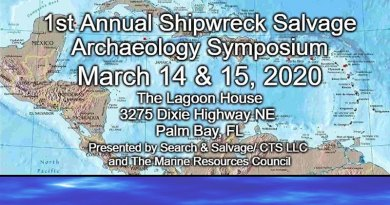 1st Annual Shipwreck Salvage Symposium