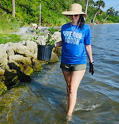 Ms. Caity Savoia is the Director of Science and Restoration