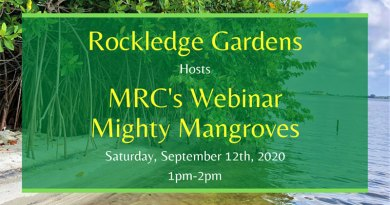 MRC's Mighty Mangroves Webinar