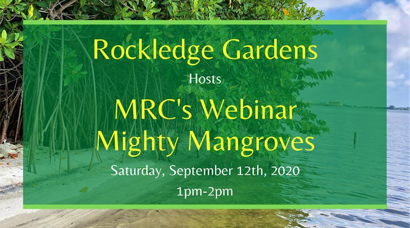 MRC's Mighty Mangroves Webinar