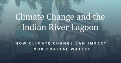 The health of our lagoon and coastal ocean is jeopardized by the increasing heat content of the ocean and atmosphere. However, it's not too late to take action.