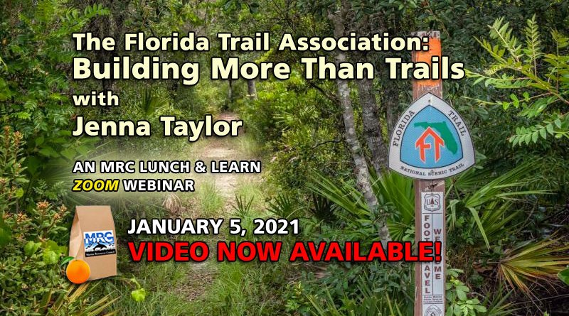January 2021 Lunch and Learn: The Florida Trail Association