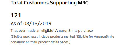 Smile.Amazon.com Purchases Supporting the Marine Resources Council