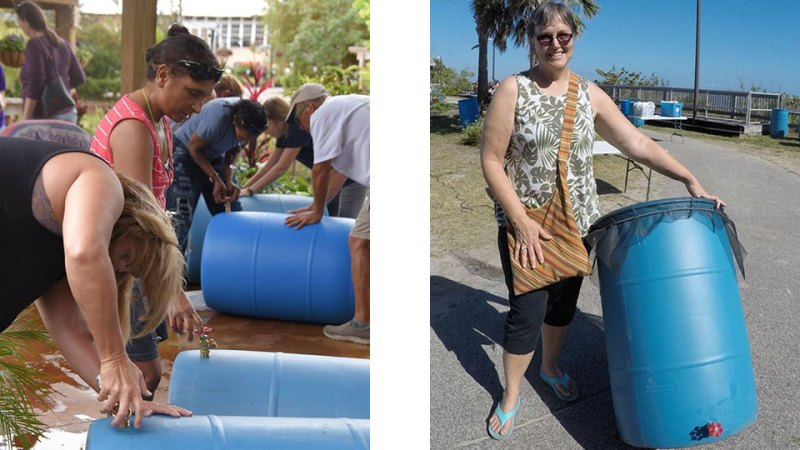 Let's make a rain barrel for the Lagoon!
