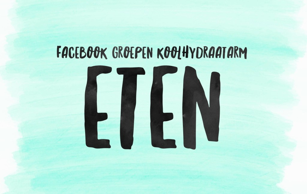 10 Facebookgroepen voor het koolhydraatarme eten