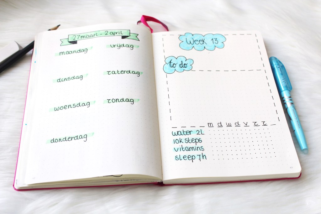 Wat heb je nodig om een bullet journal te beginnen?