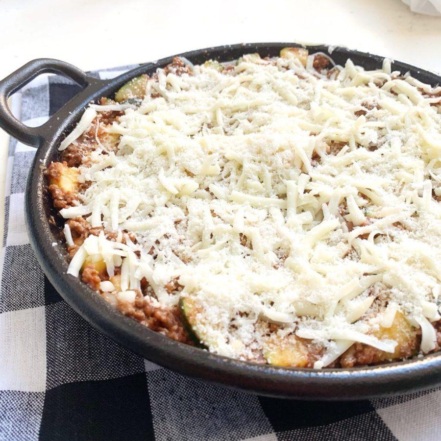 Koolhydraatarme lasagne ovenschotel