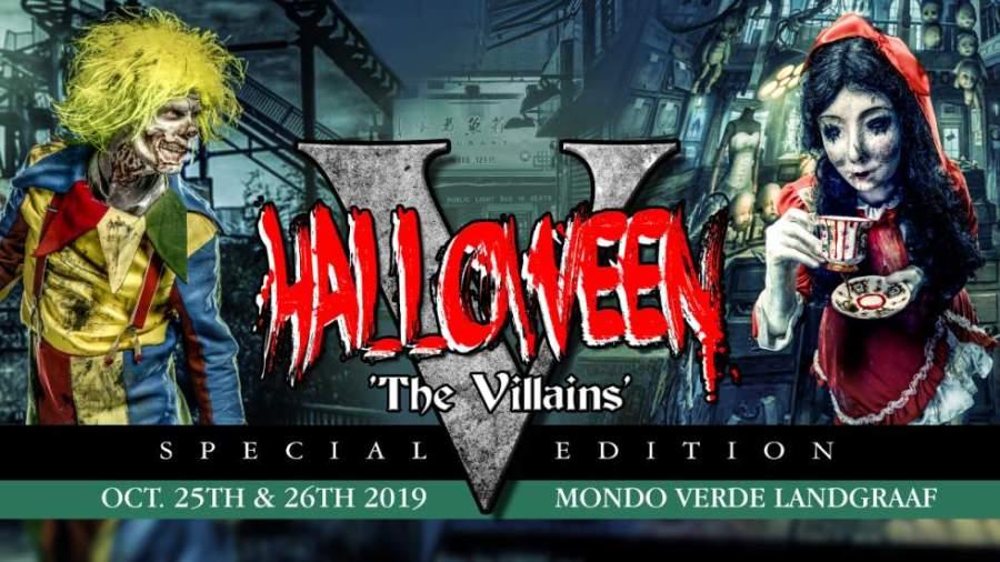 halloween the villains v