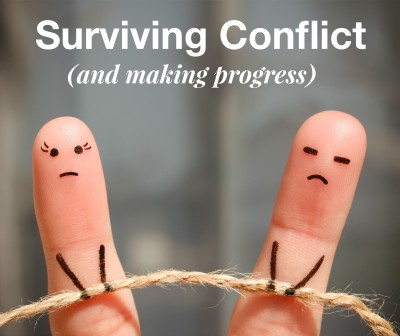 Surviving conflict in intimate relationships, including marriage.