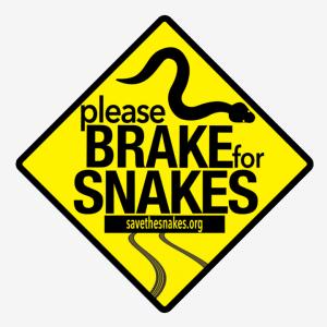 brake for snakes