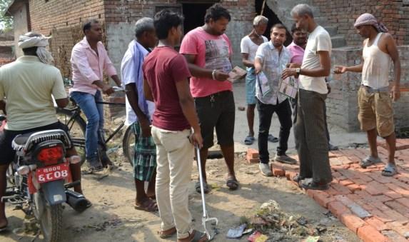 Follow up of the communities in Padariya, Bhagwanpur, Lumbini Sanskritik Municipality few days after the workshop