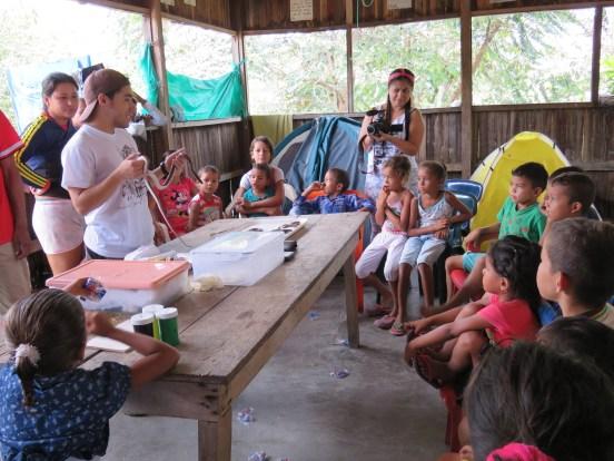 Teaching for snake conservation