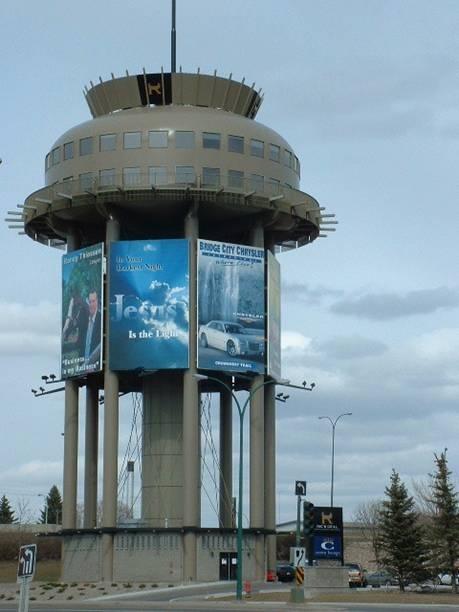 lethbridge  Save the Sudbury Water Towers