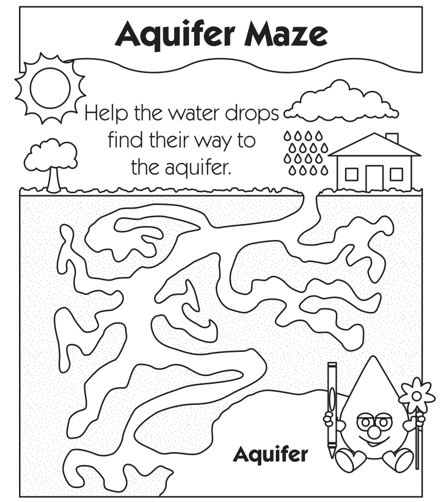 Water Cycle Coloring Worksheet Coloring Pages