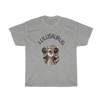 Lulusaurus Unisex Heavy Cotton Tee