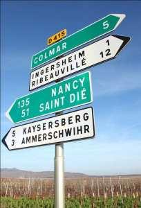 La route des vins d'Alsace, La route des vins d'Alsace Chroniques du vin et des vignobles : La route des vins d'Alsace