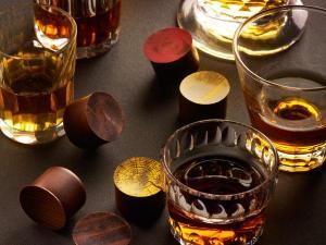 chocolat A manger et à boire : Spiritueux, vins et chocolat