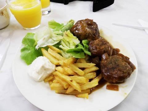 boulet liégeois Où goûter le fameux boulet liégeois… version végétarienne ?