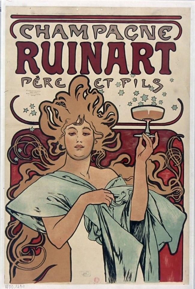 Quand Ruinart fait rimer champagne et art