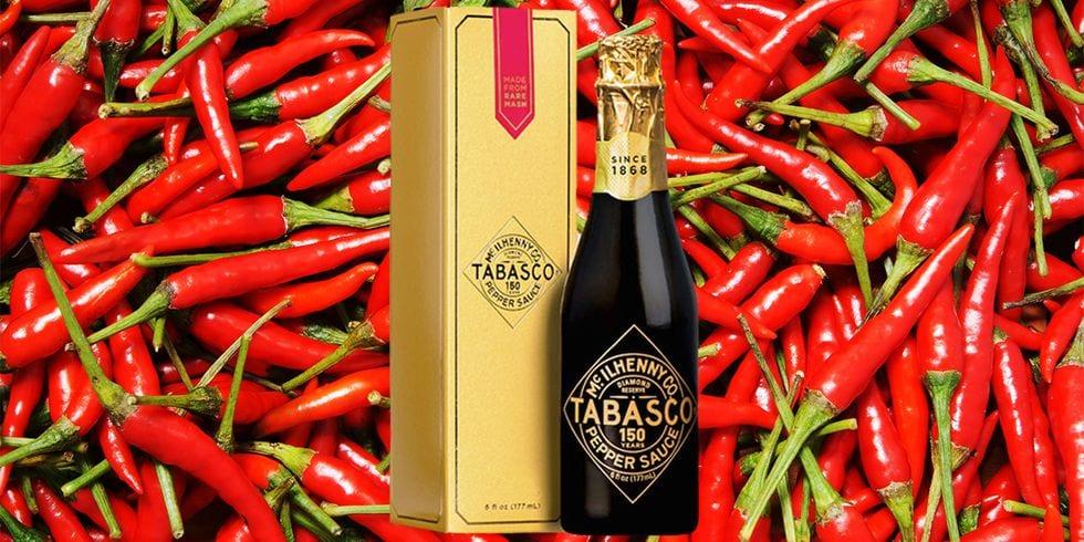 Tabasco s'offre une bouteille collector pour ses 150 ans