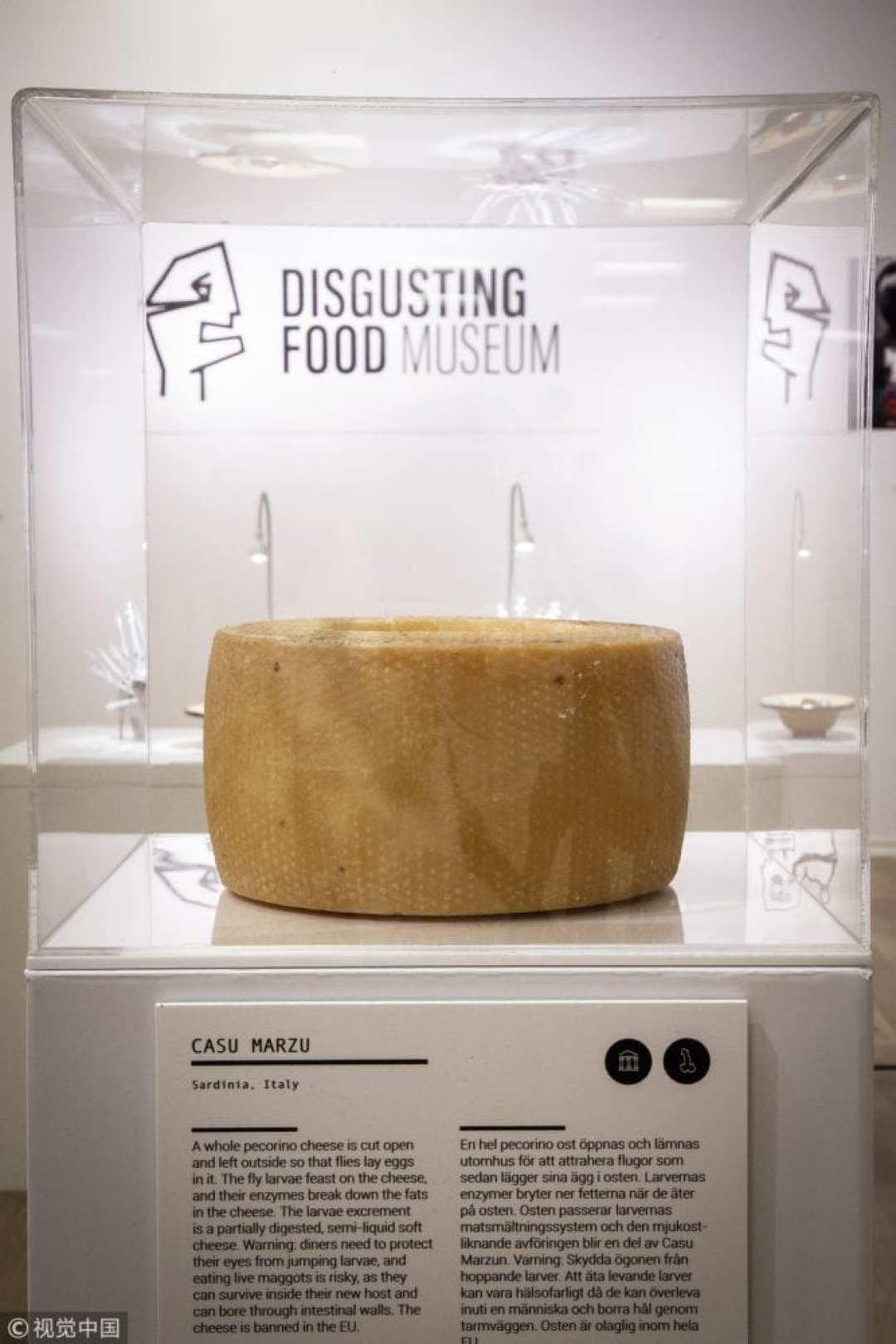 Le musée des aliments dégoûtants va ouvrir en Suède
