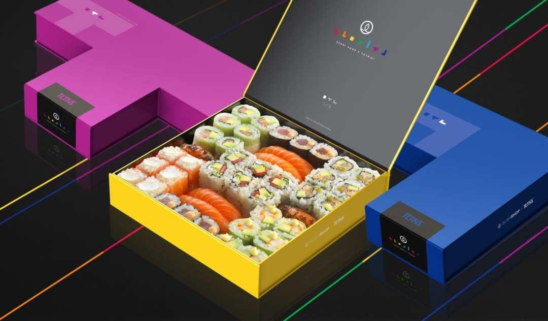 Tetris Sushi Shop