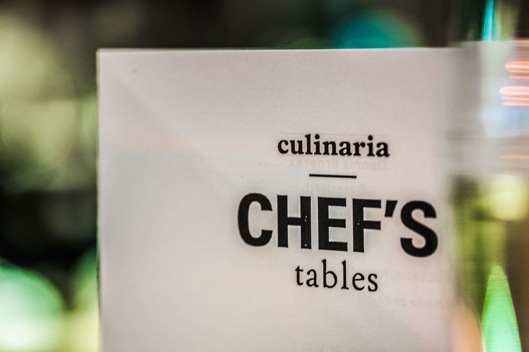 Culinaria Chef's Table