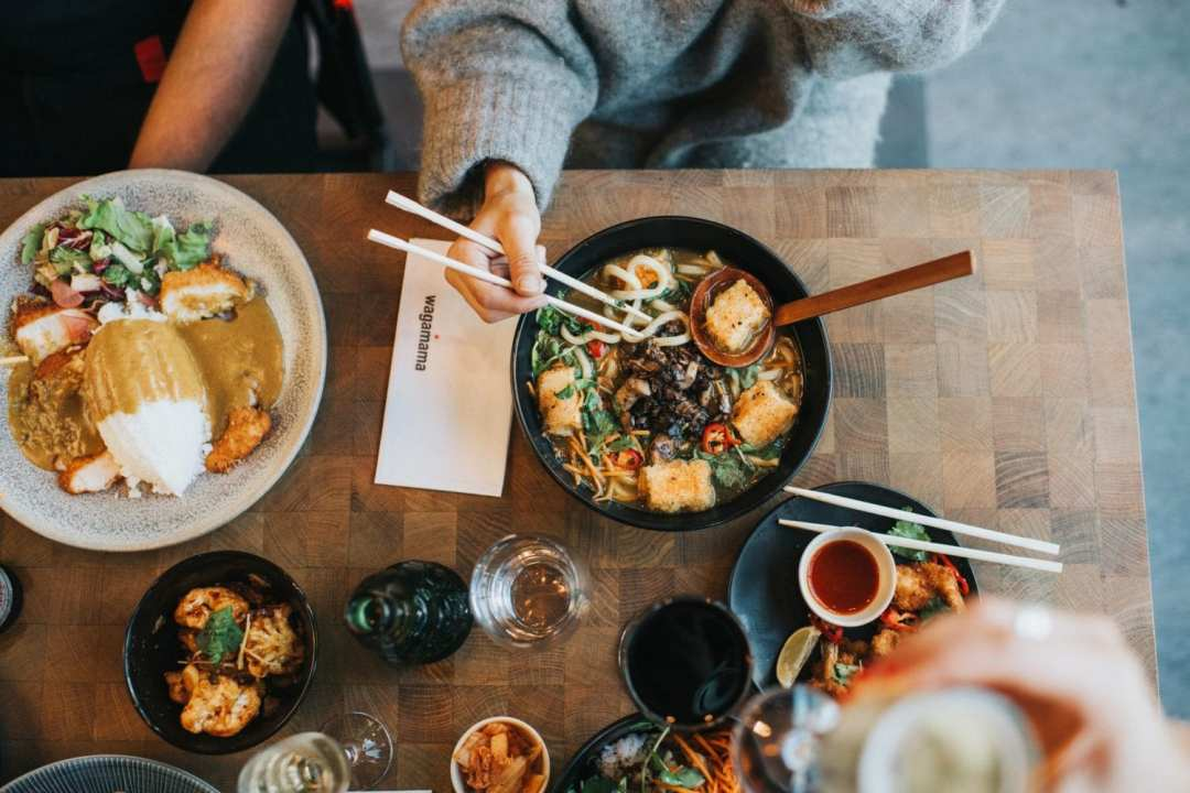 Facebook @ Wagamama restaurants japonais